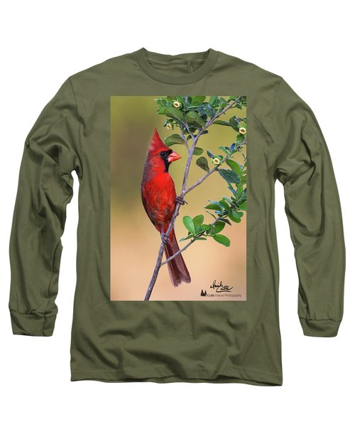 Red All Over Long Sleeve T-Shirt