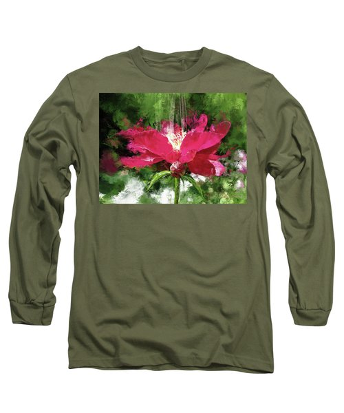 Red Volcano Long Sleeve T-Shirt