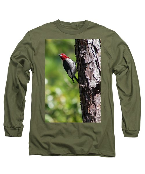 Redhead Woodpecker II Long Sleeve T-Shirt