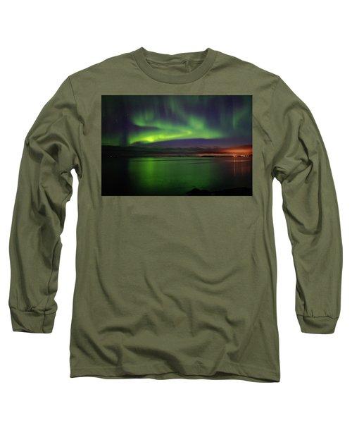 Reflected Aurora Long Sleeve T-Shirt