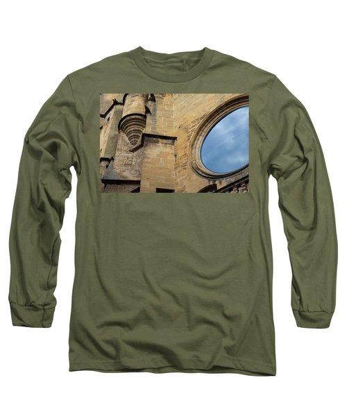 Reflection, Sarlat, France Long Sleeve T-Shirt