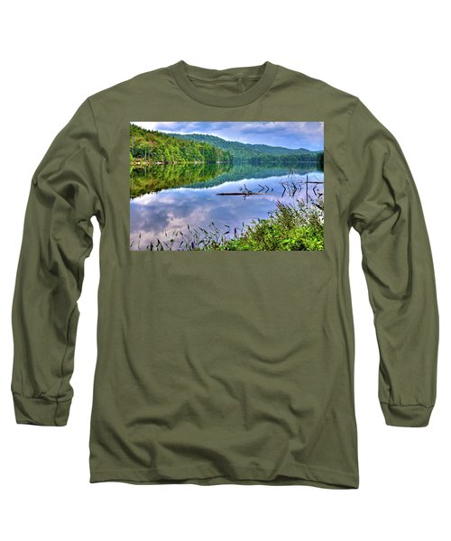 Long Sleeve T-Shirt featuring the photograph Reflections On Sis Lake by David Patterson