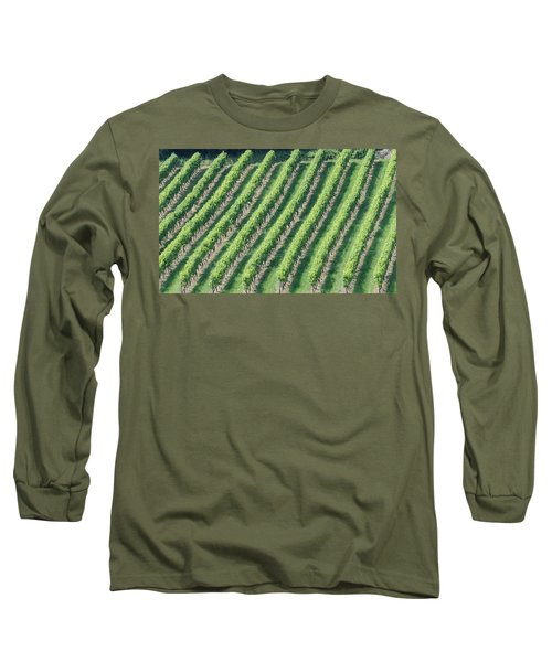 Riesling On The Rhine Long Sleeve T-Shirt