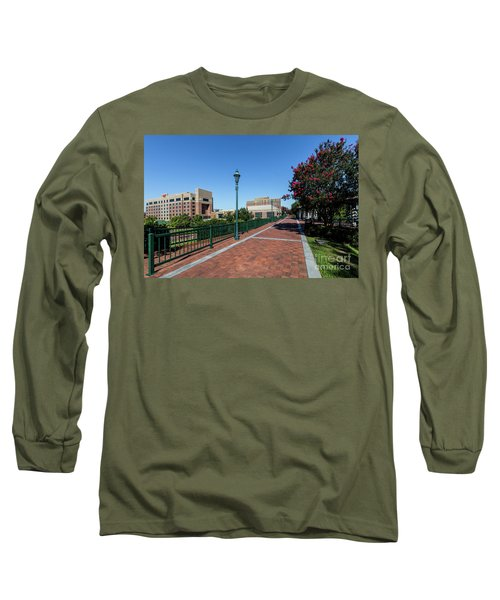 Riverwalk Downtown Augusta Ga Long Sleeve T-Shirt