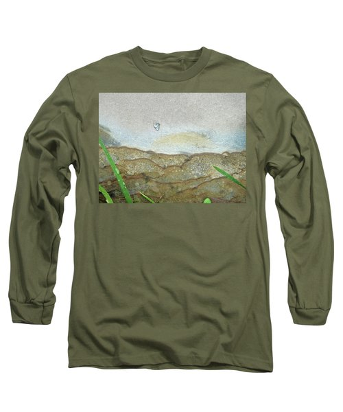 Rock Stain Abstract 5 Long Sleeve T-Shirt
