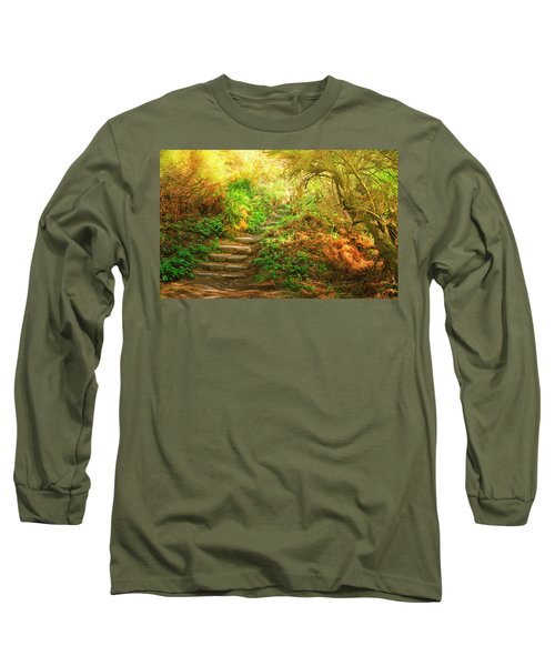 Rock Stairs Long Sleeve T-Shirt