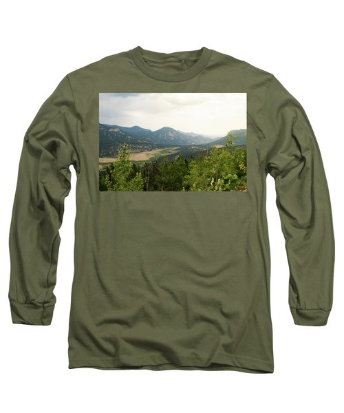Rocky Mountain Overlook Long Sleeve T-Shirt