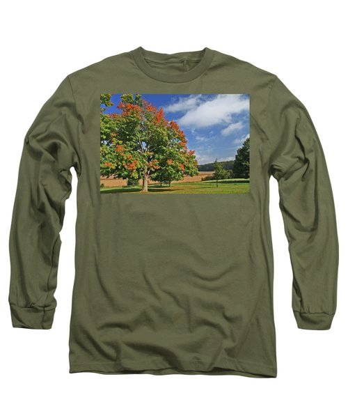 Rolling Farmland Long Sleeve T-Shirt