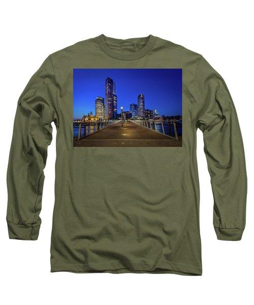 Rottedam Rijnhaven Bridge Long Sleeve T-Shirt