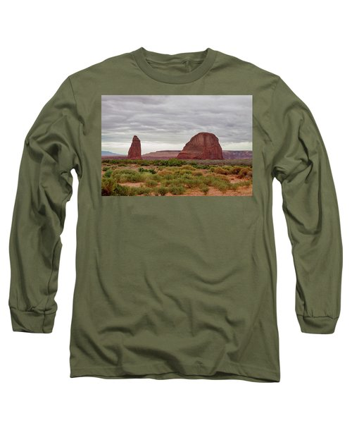 Long Sleeve T-Shirt featuring the photograph Round Rock by James BO Insogna