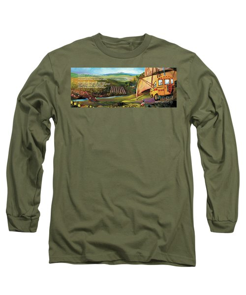 Sailbus Flight Home Long Sleeve T-Shirt