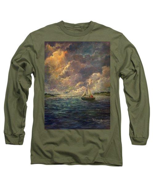 Sailing The Divine Light Long Sleeve T-Shirt