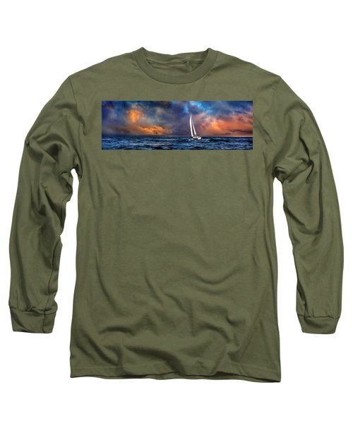 Sailing The Winedark Sea Long Sleeve T-Shirt