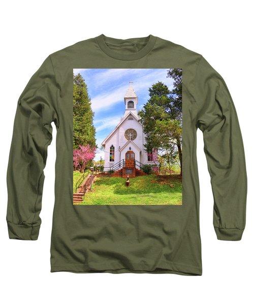 Saint Joseph Roman Catholic Church In Columbia Virginia Long Sleeve T-Shirt