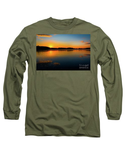 Savannah River Sunrise - Augusta Ga Long Sleeve T-Shirt