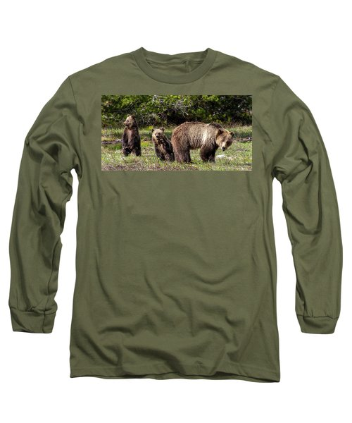 Long Sleeve T-Shirt featuring the photograph Say Hello by Mary Hone