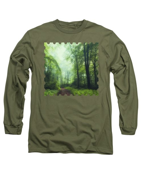 Scent Of Summer In The Forest Long Sleeve T-Shirt
