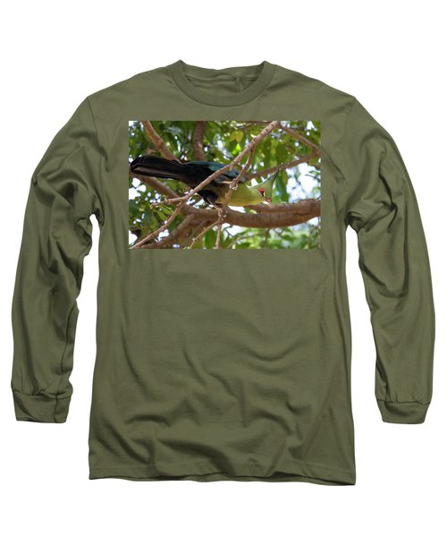 Schalow's Turaco Long Sleeve T-Shirt