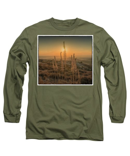 Sea Squills At Sunset Long Sleeve T-Shirt
