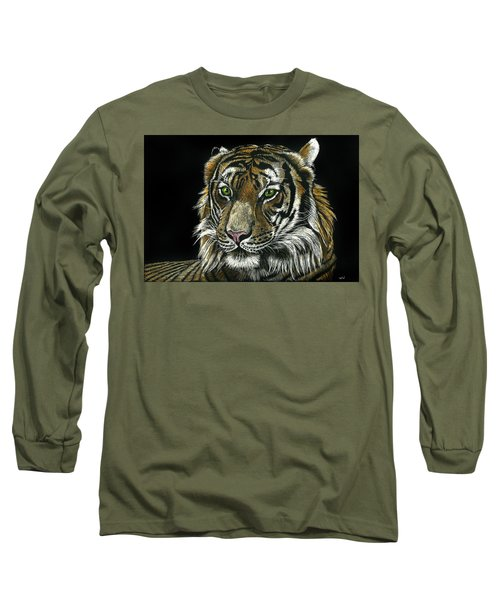 Seated Tiger Long Sleeve T-Shirt