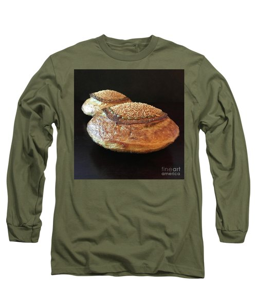 Seeded White And Rye Sourdough 2 Long Sleeve T-Shirt