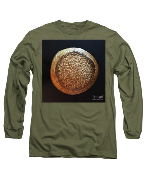 Seeded White And Rye Sourdough Long Sleeve T-Shirt