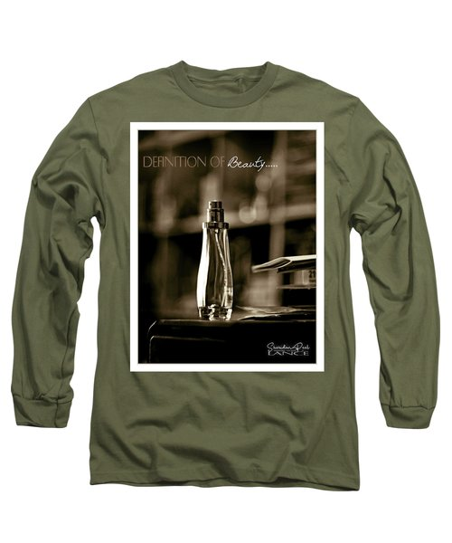 Sepia Definition Of Beauty Long Sleeve T-Shirt
