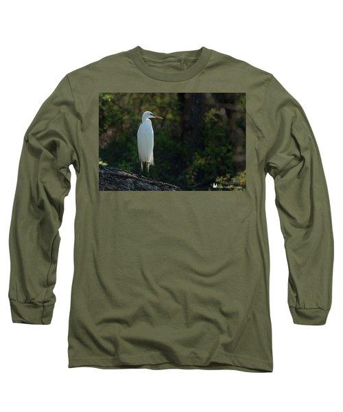 Shadow Heron Long Sleeve T-Shirt