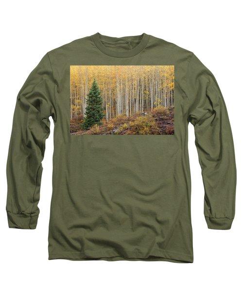 Shimmering Aspens Long Sleeve T-Shirt