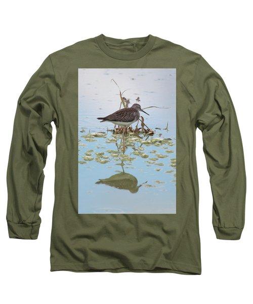 Shorebird Reflection Long Sleeve T-Shirt
