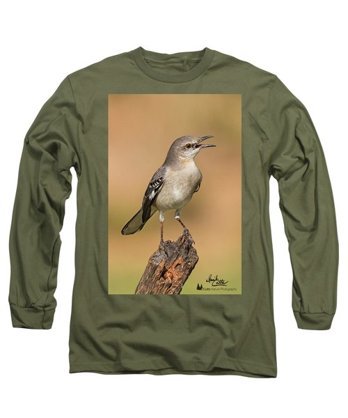 Singing Mockingbird Long Sleeve T-Shirt