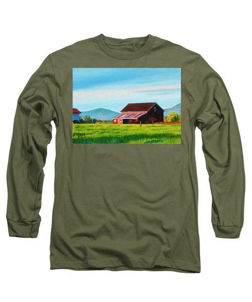 Skagit Valley Barn Long Sleeve T-Shirt