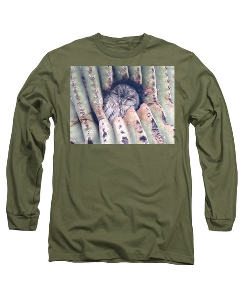 Sleepy Eye Long Sleeve T-Shirt