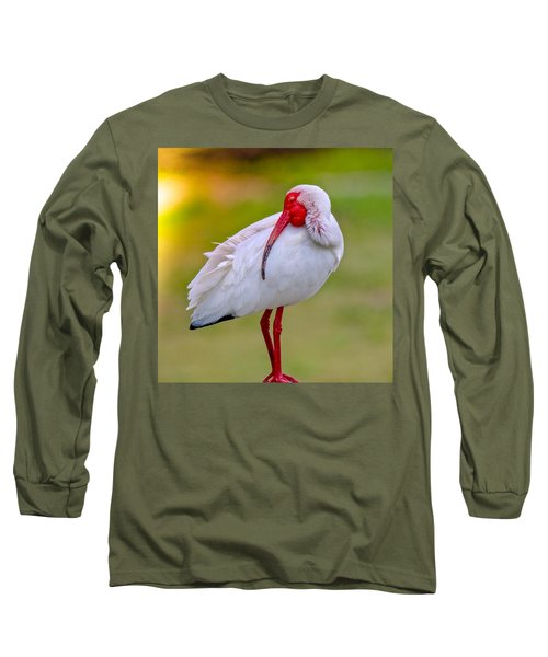 Sleepy Ibis Long Sleeve T-Shirt