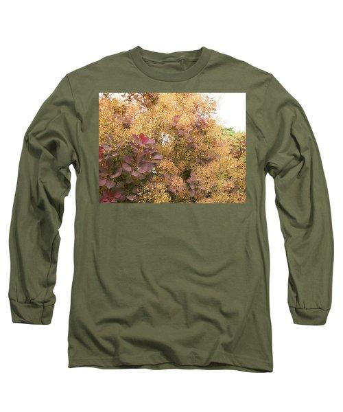 Smoke Bush  Long Sleeve T-Shirt