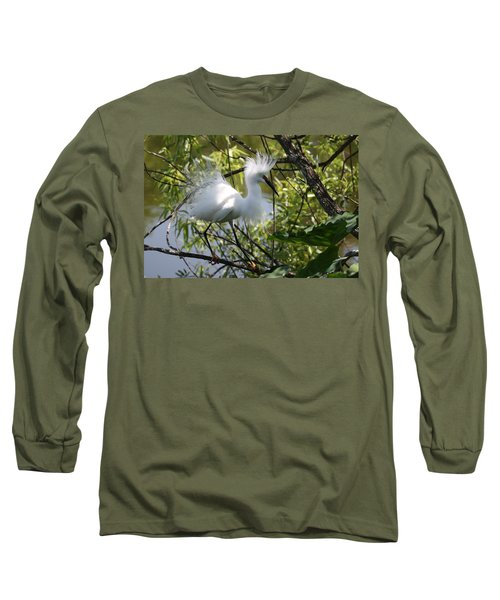 Snowy Egret 4031202 Long Sleeve T-Shirt