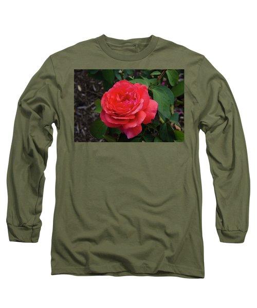 Solitary Rose Long Sleeve T-Shirt