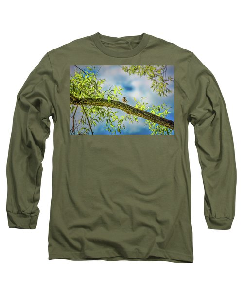 Someone Coming? #i2 Long Sleeve T-Shirt