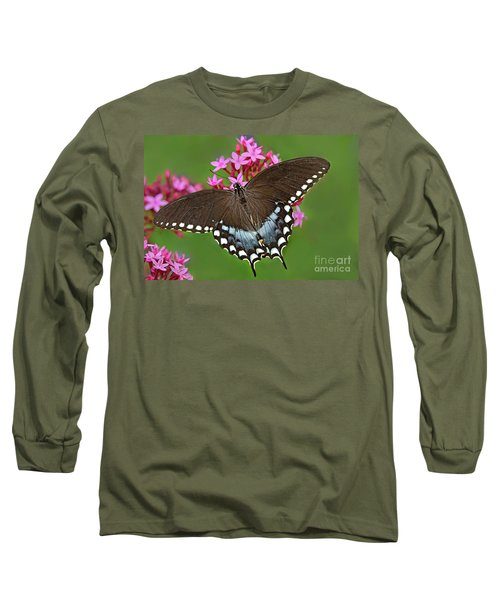 Spicebush Swallowtail Papilio Trollus Long Sleeve T-Shirt