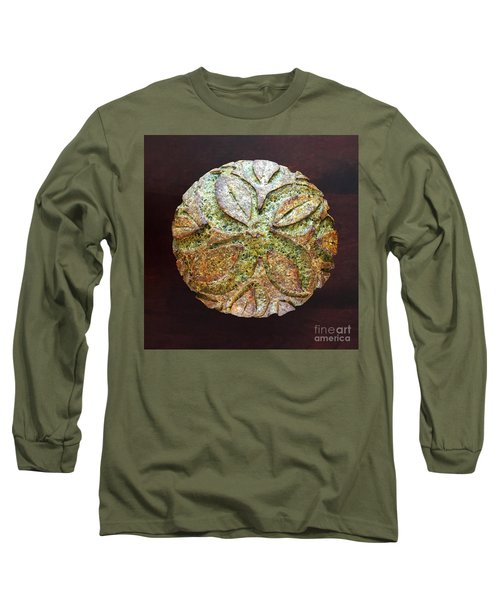Spicy Spinach Sourdough Long Sleeve T-Shirt