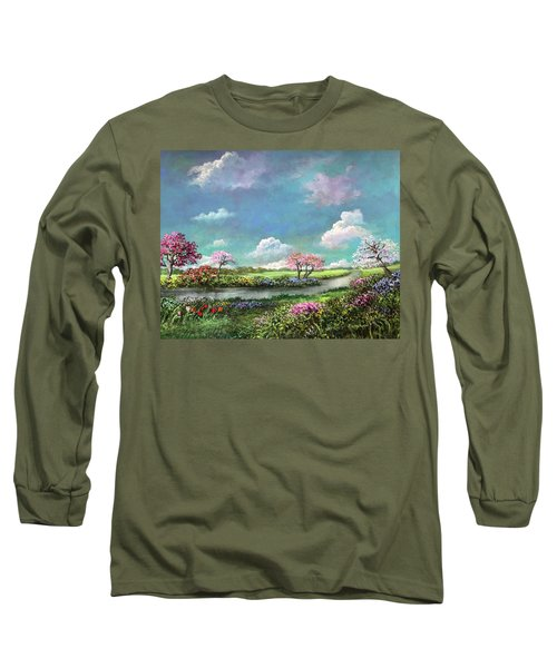 Spring In The Garden Of Eden Long Sleeve T-Shirt
