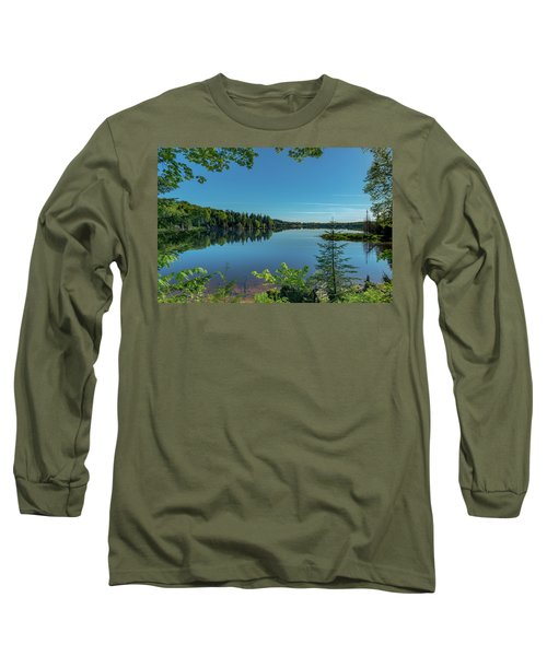 Spring Morning On Grand Sable Lake Long Sleeve T-Shirt