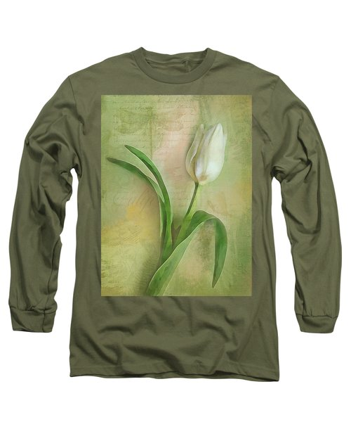 Spring Tulip Montage Long Sleeve T-Shirt