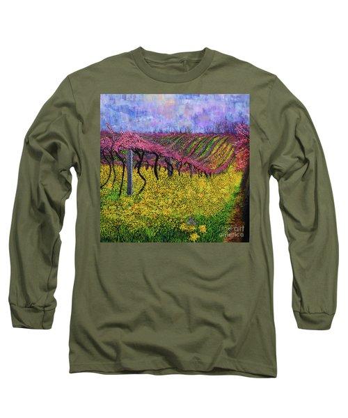 Spring Vineyard Long Sleeve T-Shirt