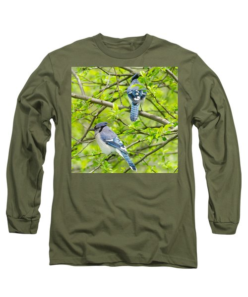 Springtime Pairs Long Sleeve T-Shirt