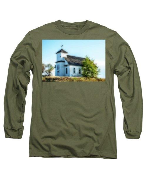 St. Agnes. Church Long Sleeve T-Shirt