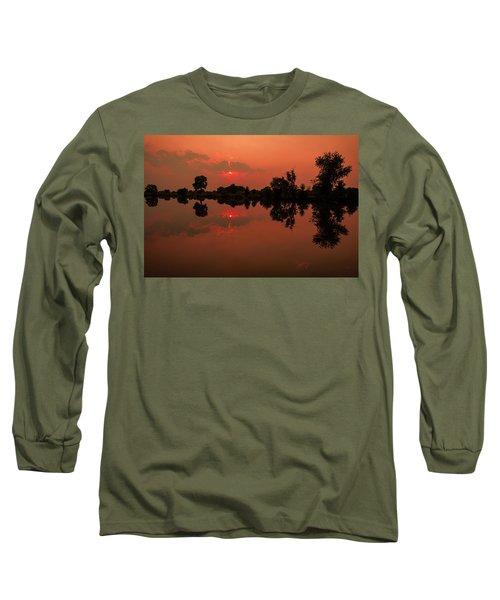 St. Vrain Sunset Long Sleeve T-Shirt