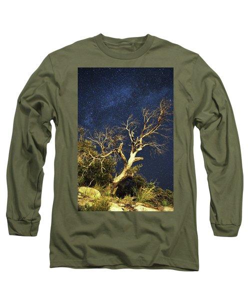 Stars Light Up Arizona Sky Long Sleeve T-Shirt
