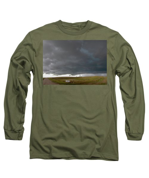 Storm Chasin In Nader Alley 016 Long Sleeve T-Shirt