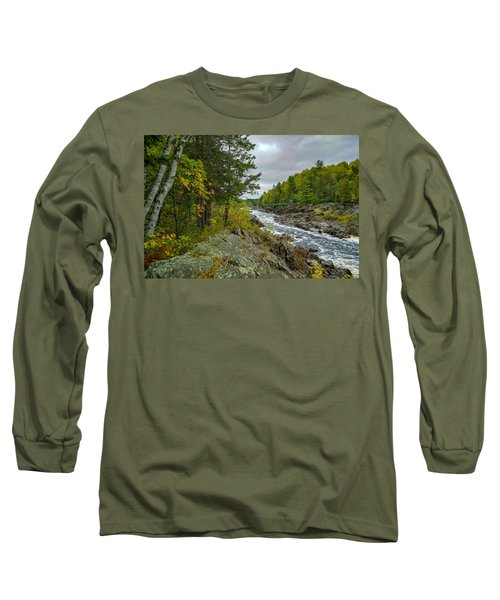 Storm Clouds At Jay Cooke Long Sleeve T-Shirt